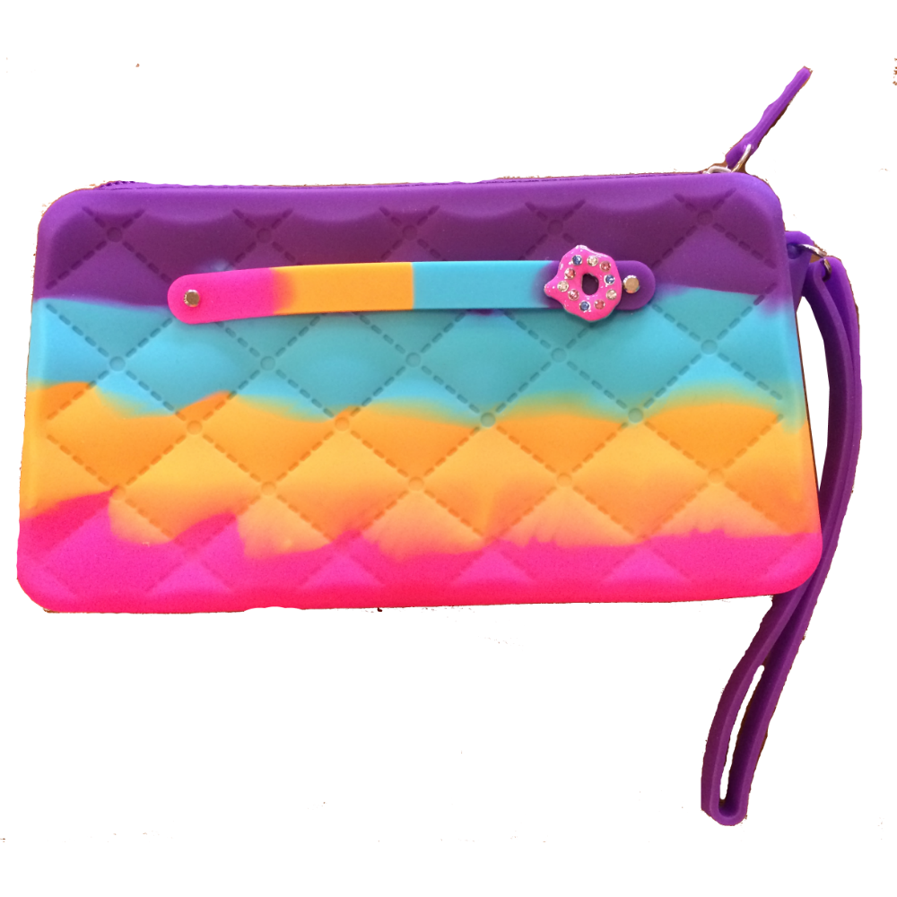 American Jewel Gummy Wristlet Bag