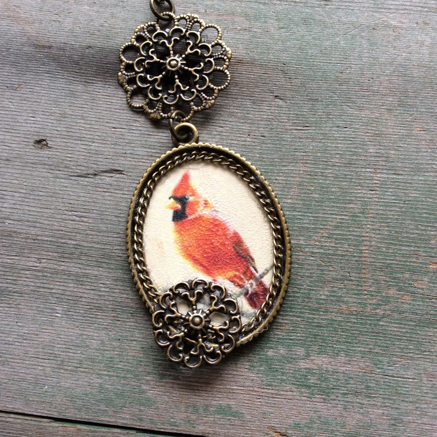 shipping bird buy get jewelry and w com print art cardinal aqua free glass aliexpress necklace background on red christmas wholesale