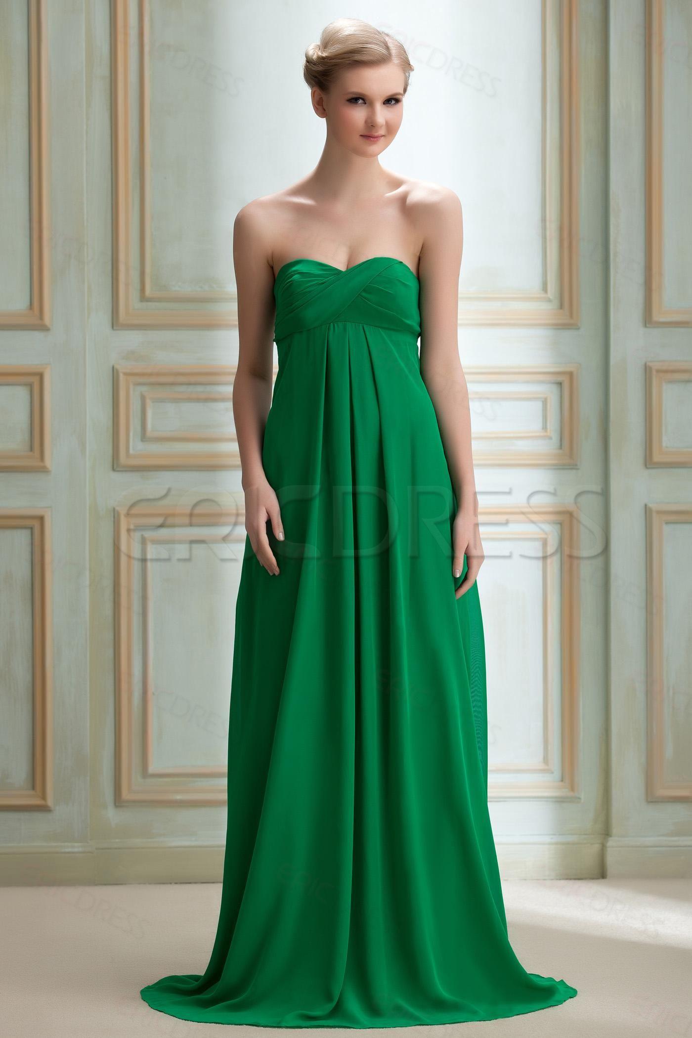 Hot Elegant A-line Strapless Floor-length Yanas Prom Dress | Probs ...