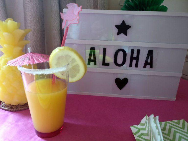 La tropicale party des 10 ans | Mon blog de maman