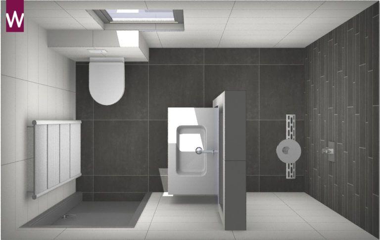 Voorbeeld Kleine Badkamer : Voorbeeld een kleine badkamer met grote tegels oude