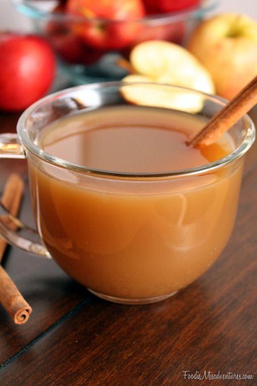 Mulled Apple Cider   Recipe   Apple cider, Christmas eve ...