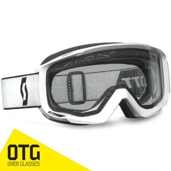 2015 Scott Split Pro OTG Goggles - White