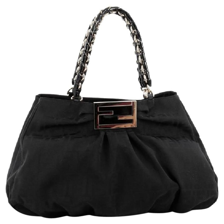 cd80b61605bc Get one of the hottest styles of the season! The Fendi Mia Zucca Canvas  Large Tote Bag is a top 10 member favorite on Tradesy.