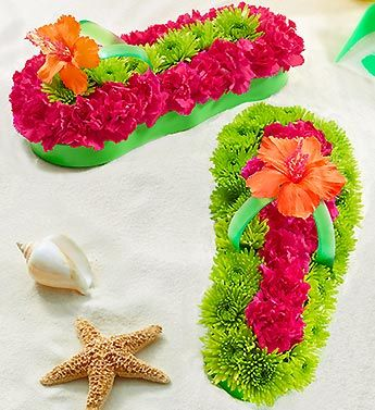 31f173d71528 Fresh Flower Flip Flop™ Give them a reason to kick off their shoes ...