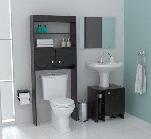Muebles para ba o ideas para el hogar pinterest - Mueble para encima del inodoro ...