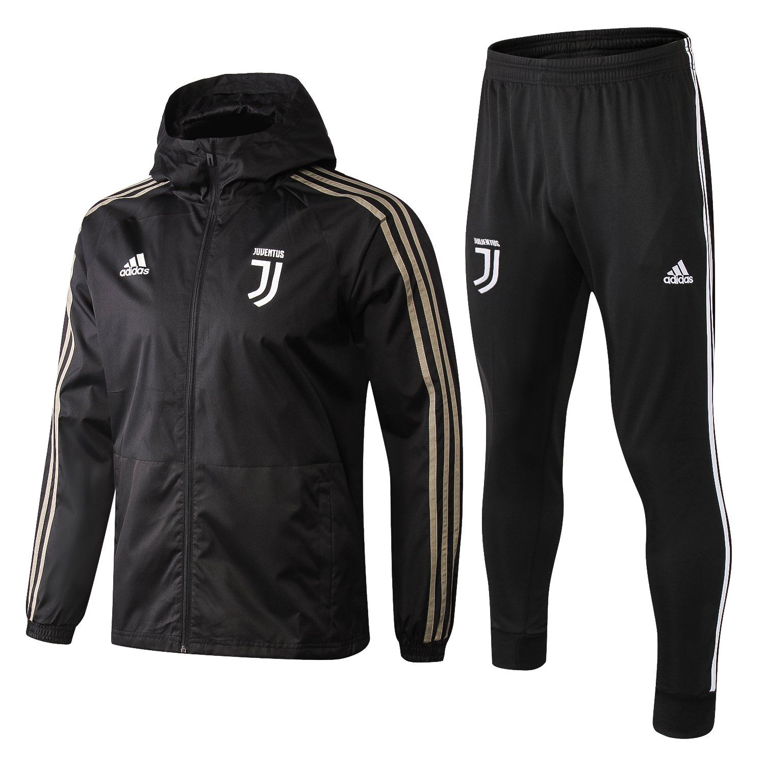 Juventus F.C. Juve FOOTBALL CLUB Adidas 2018 - 19 TRAINING Casual TOP  TRACKSUIT FÚTBOL CALCIO SOCCER CLUB FUSSBALL BNWT 097df89e179ba