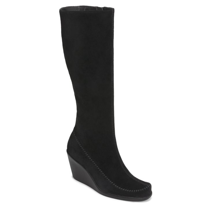 ed27d6f8fccb Gather Round Suede Knee High Boot