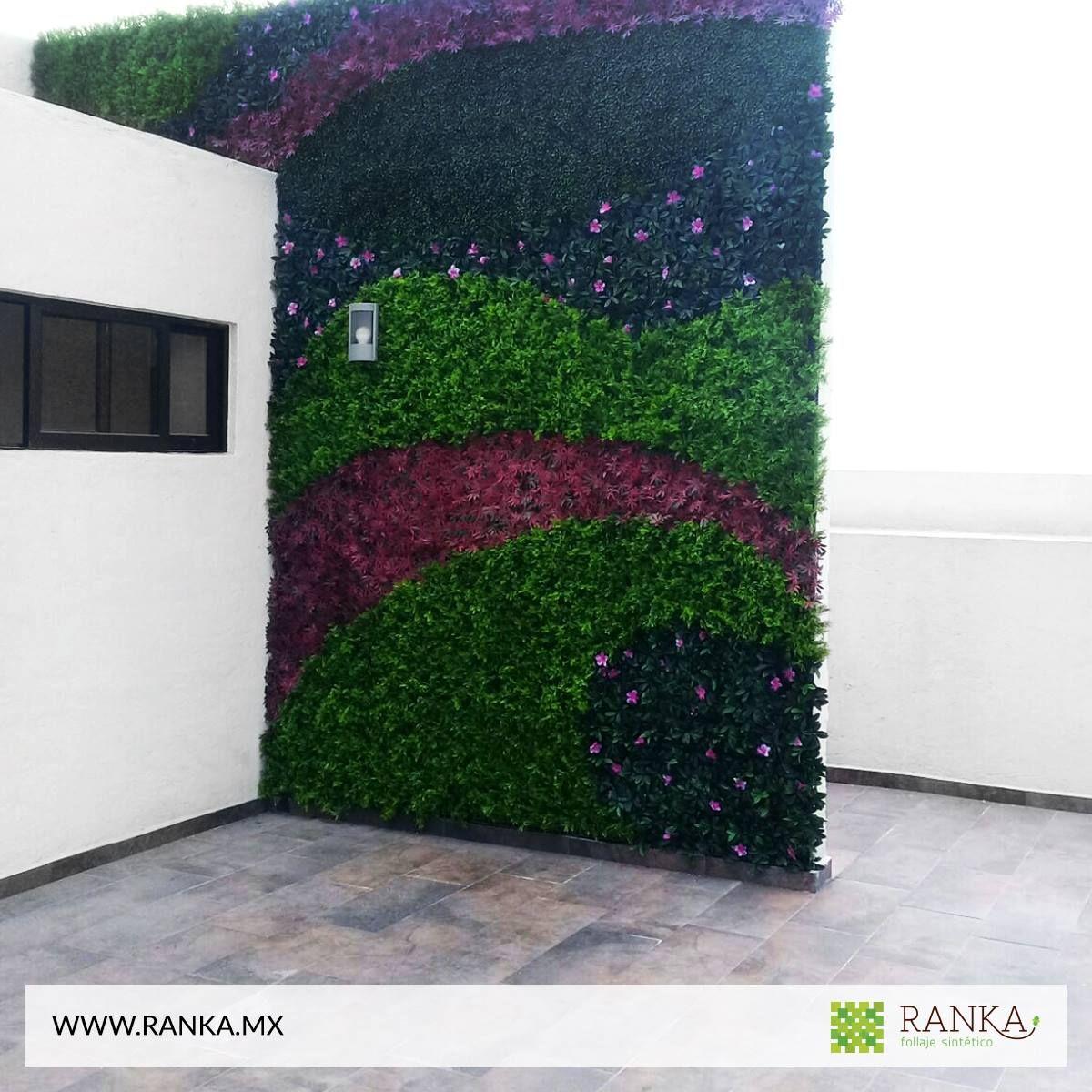 Dale vida a tus muros con el mejor follaje artificial for Follaje para jardin