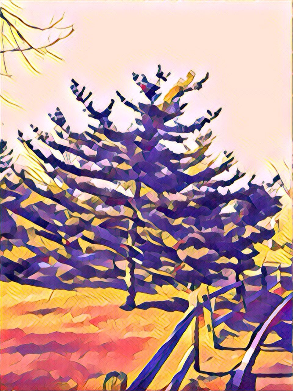 Prisma Photo App Filter Name Flora Abstract Artwork Photo
