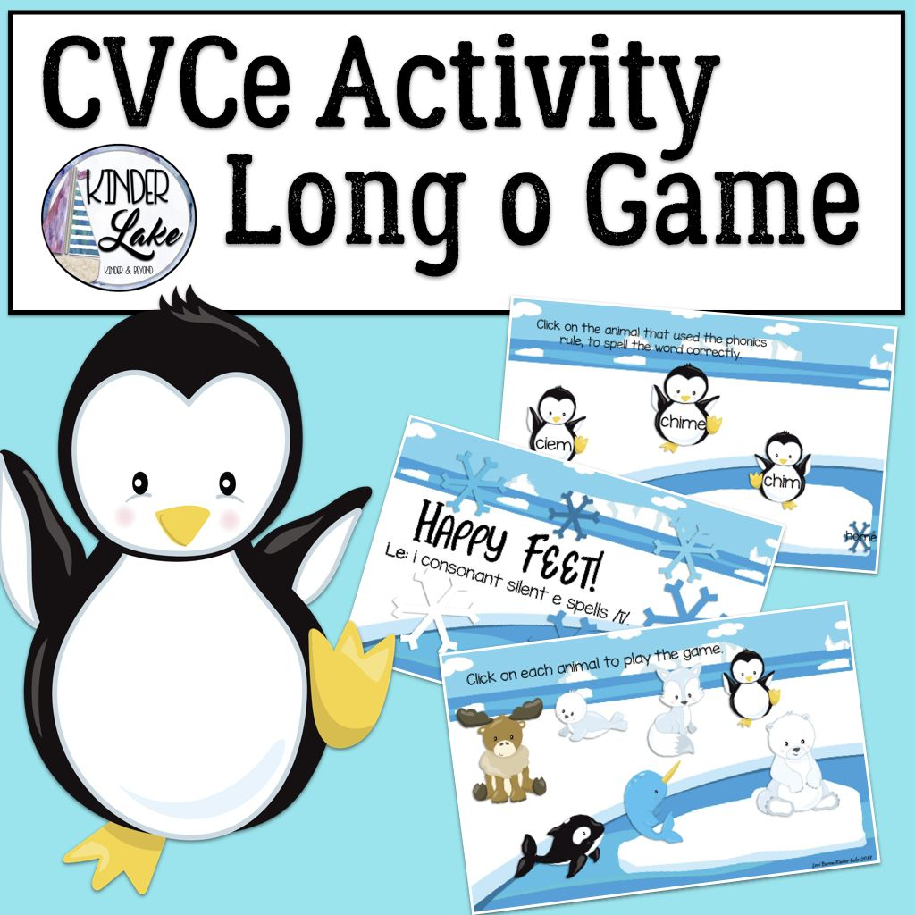 Cvce Activities Long O Interactive Digital Game With