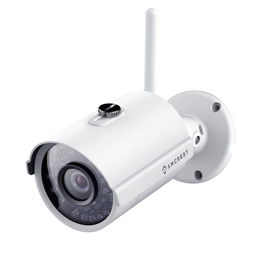 Amcrest Prohd 1080p Wi Fi Bullet Camera Bullet Camera Ip Security Camera Home Security Camera Systems