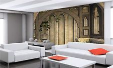 Medieval Building, 3D Wall Mural Photo Wallpaper GIANT WALL DECOR  PAPER POSTER