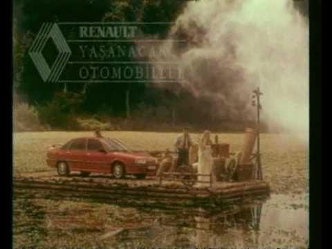 1990 1993 Renault 21 Turkiye Reklami Araba Teknik Bilgi Reklam Araba Bilgi