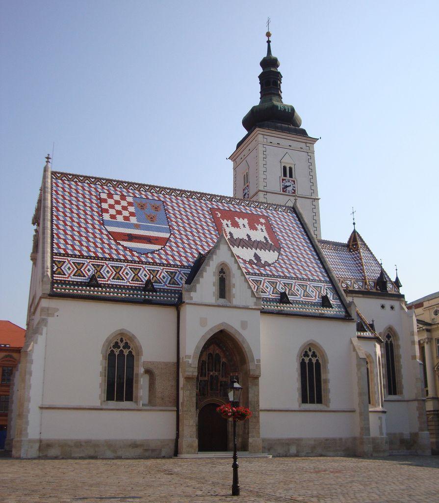 Church Of Saint Mark Zagreb Croatia Zagreb Croatia Church