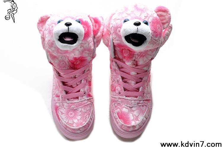 Adidas X Jeremy Scott Pink Flower Shoes For Sale