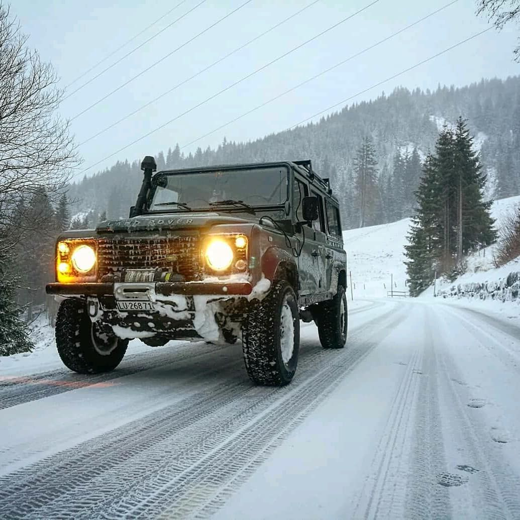Winter ops landroveroffroadextrem Follow us