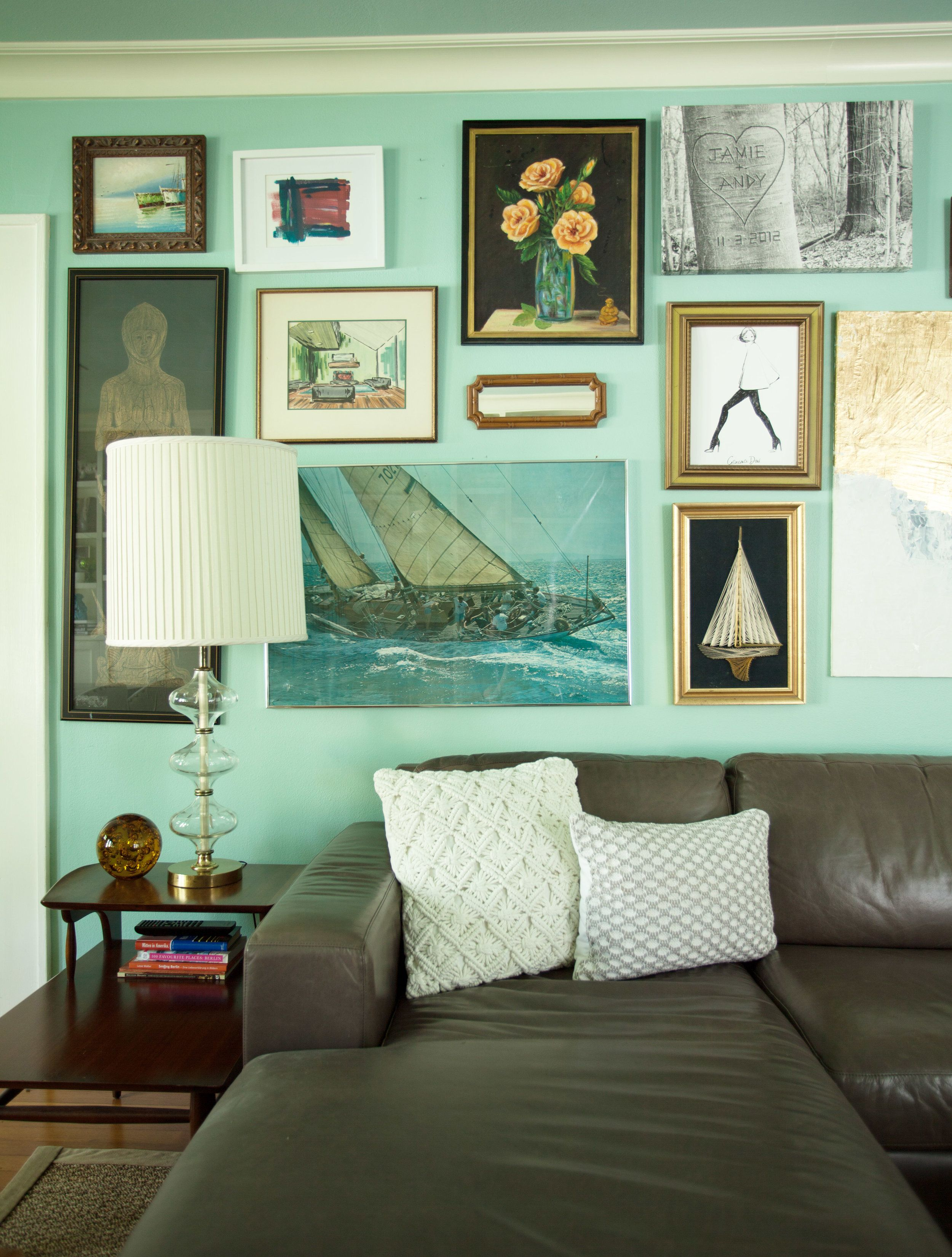 Gallery wall. Jamie House Design.