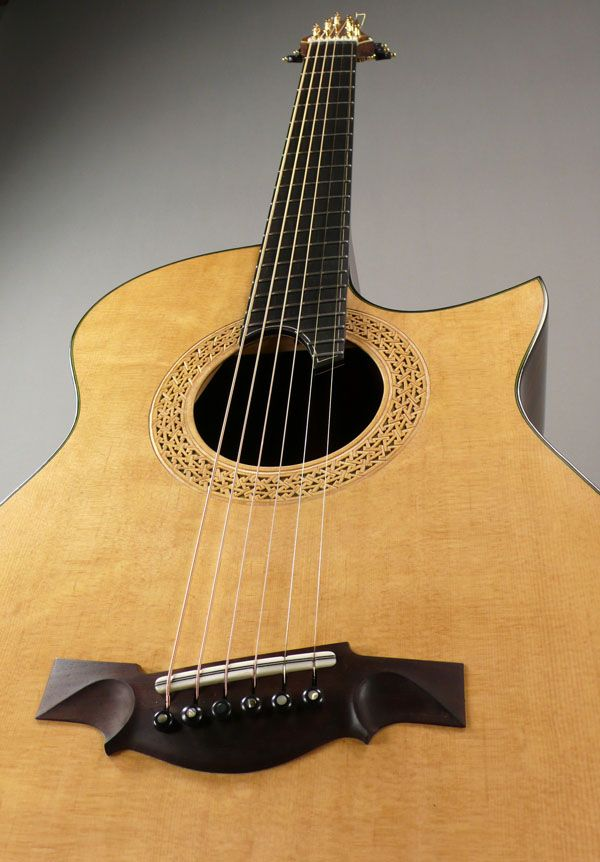 New Somogyi 000 12 Custom 000 12c Fan Fret Acoustic Guitar At Dream Guitars Acoustic Guitar Lessons Guitar Acoustic