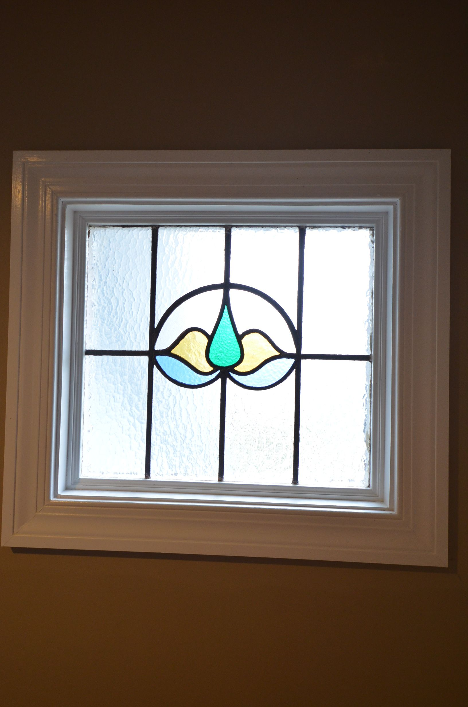Best Stained Glass Window At The Top Of The Stairs 400 x 300