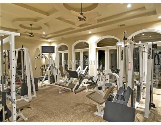 Home gym. i will be training clients here! our next home in 2019