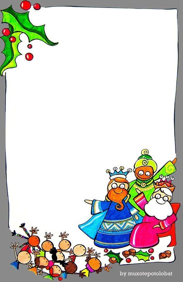 reyes magos | bordes y tableros | Pinterest | Magos, Rey y Navidad