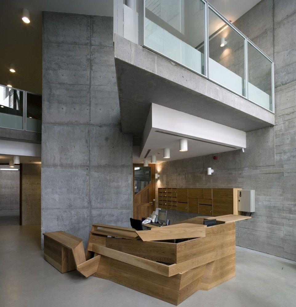 Rector office at vigo university campus embt proyectos - Muebles de oficina en vigo ...