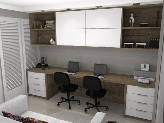 quarto de hospedes com escritorio Creative Decor Pinterest ~ Transformar Home Office Em Quarto De Bebe
