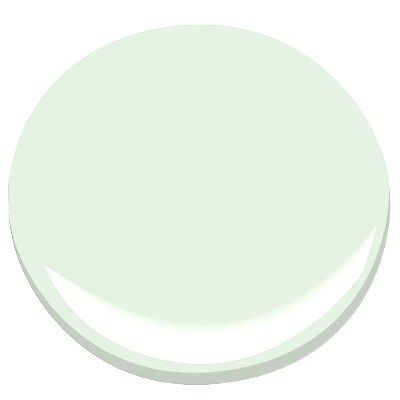 Daiquiri ice a perfect pale green for the window trim for Benjamin moore light green
