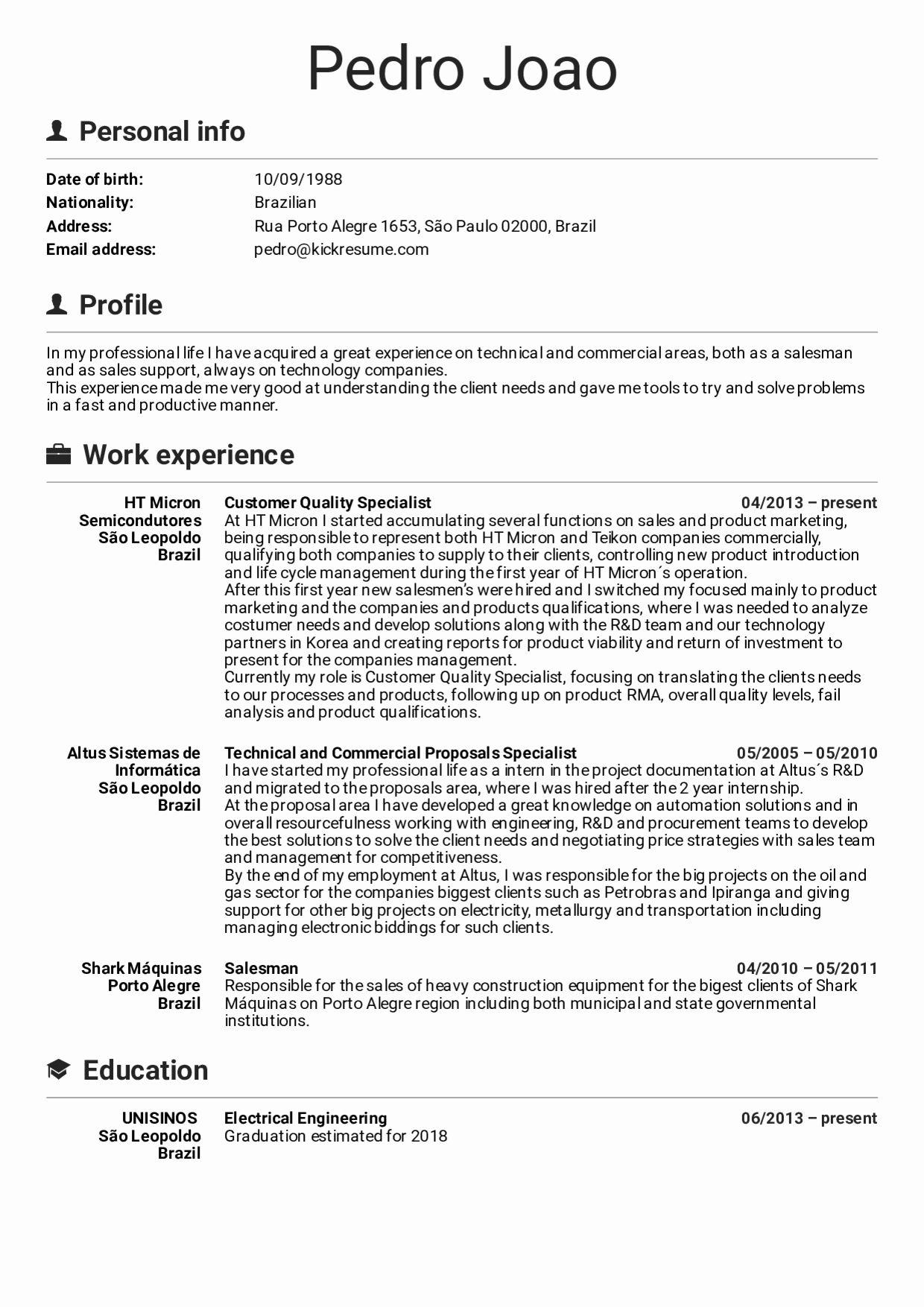 Customer Support Specialist Resume Fresh Resume Examples By Real People Customer Specialist Resume