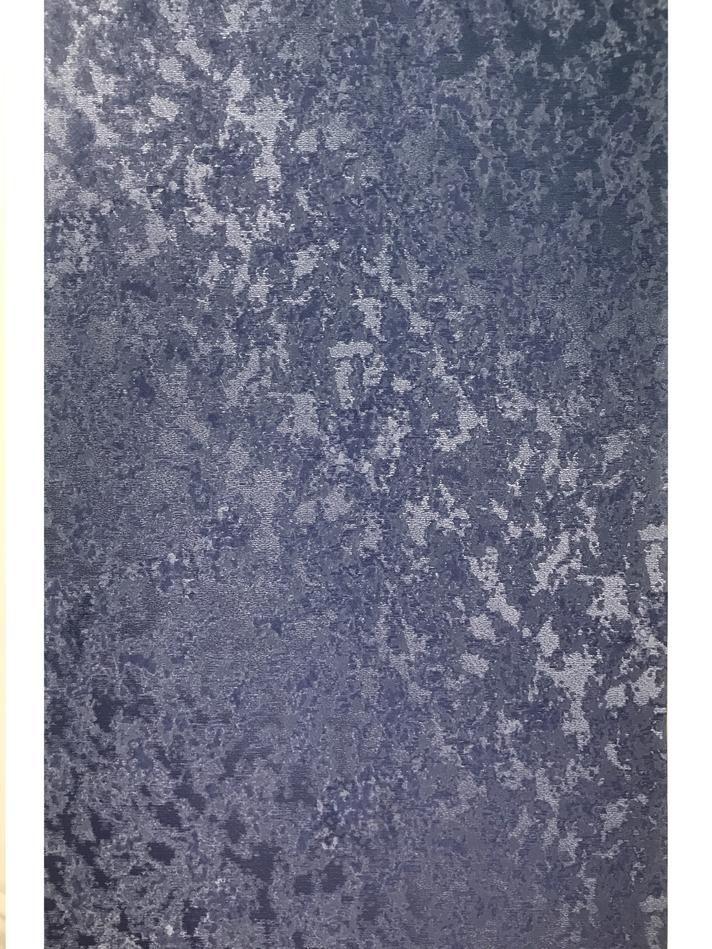 450103 Textured Plain Wallpaper Navy blue metallic faux