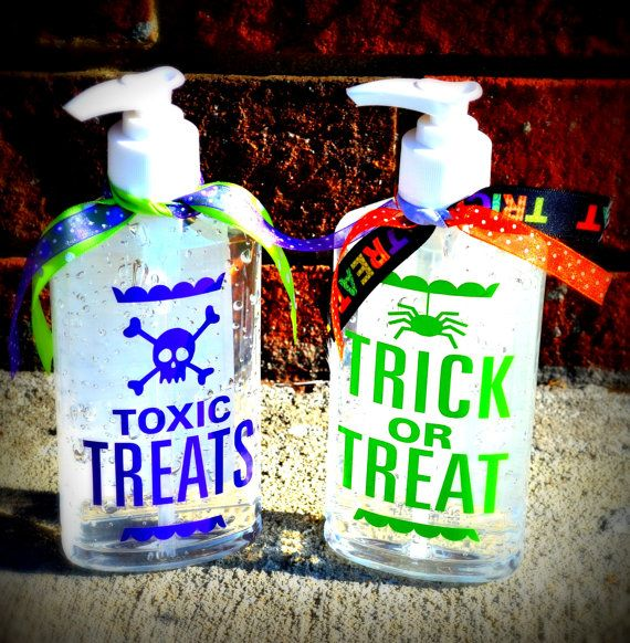 Halloween Hand Sanitizer Germ X Bottle 8 00 Via Etsy