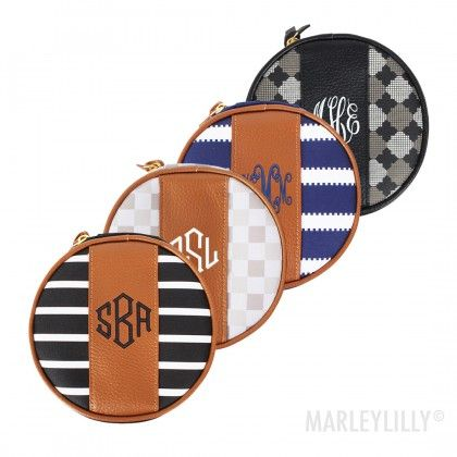 Monogrammed Travel Jewelry Case Love these Accessories Pinterest