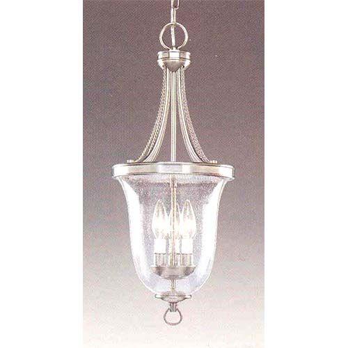 Progress Lighting P3753 09 Brushed Nickel Glass Pendant 94375309 Bellacor Glass Pendants Traditional Pendant Lighting Kitchen Pendant Lighting
