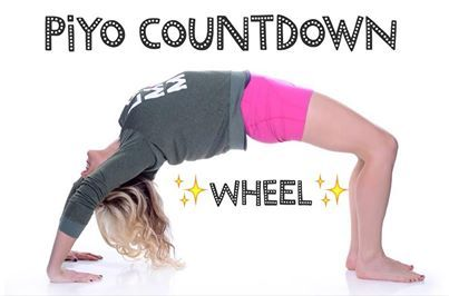yoga challenge all levels welcome day 19 wheel pose