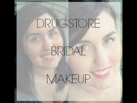 Rebecca Lately // LOOKS: Drugstore Wedding Makeup // Guest posting for Jessica on