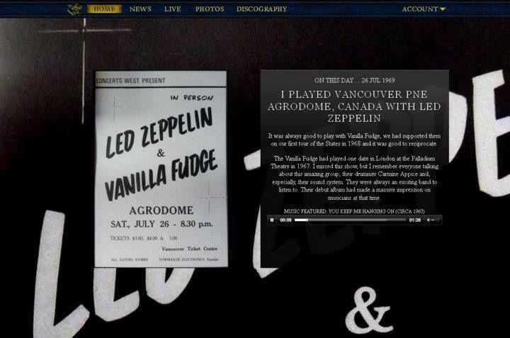 Led Zeppelin with Vanilla Fudge - Vancouver