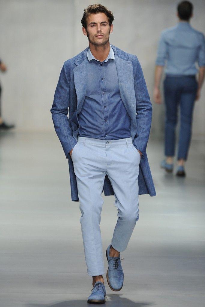 Ermanno Scervino tones of blue