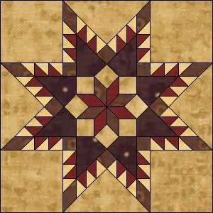 Sew Unique Creations: Freebie Friday Feathered Star Quilt Block Pattern