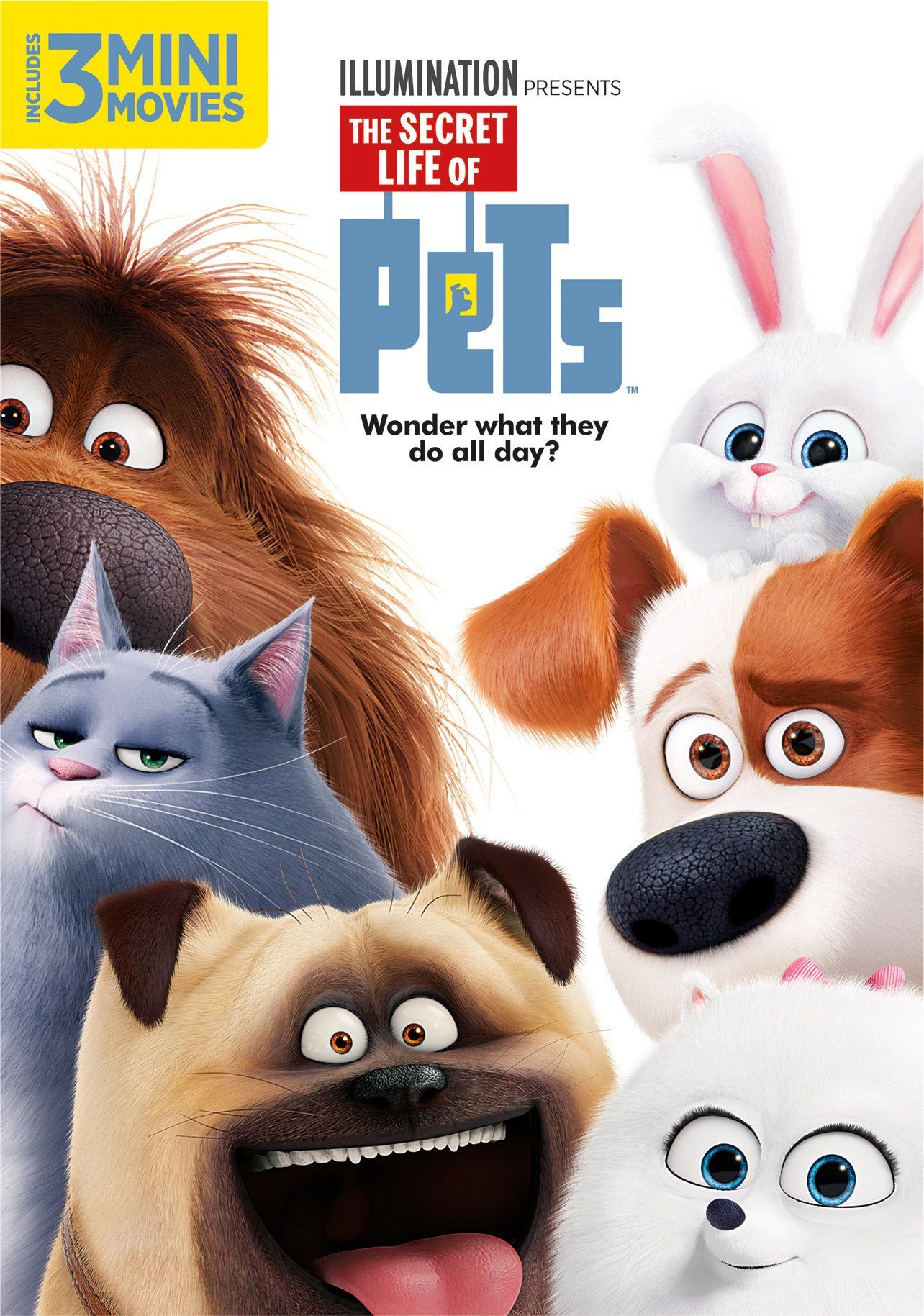 The Secret Life Of Pets Must See Dvd In 2019 Secret Life Of Pets