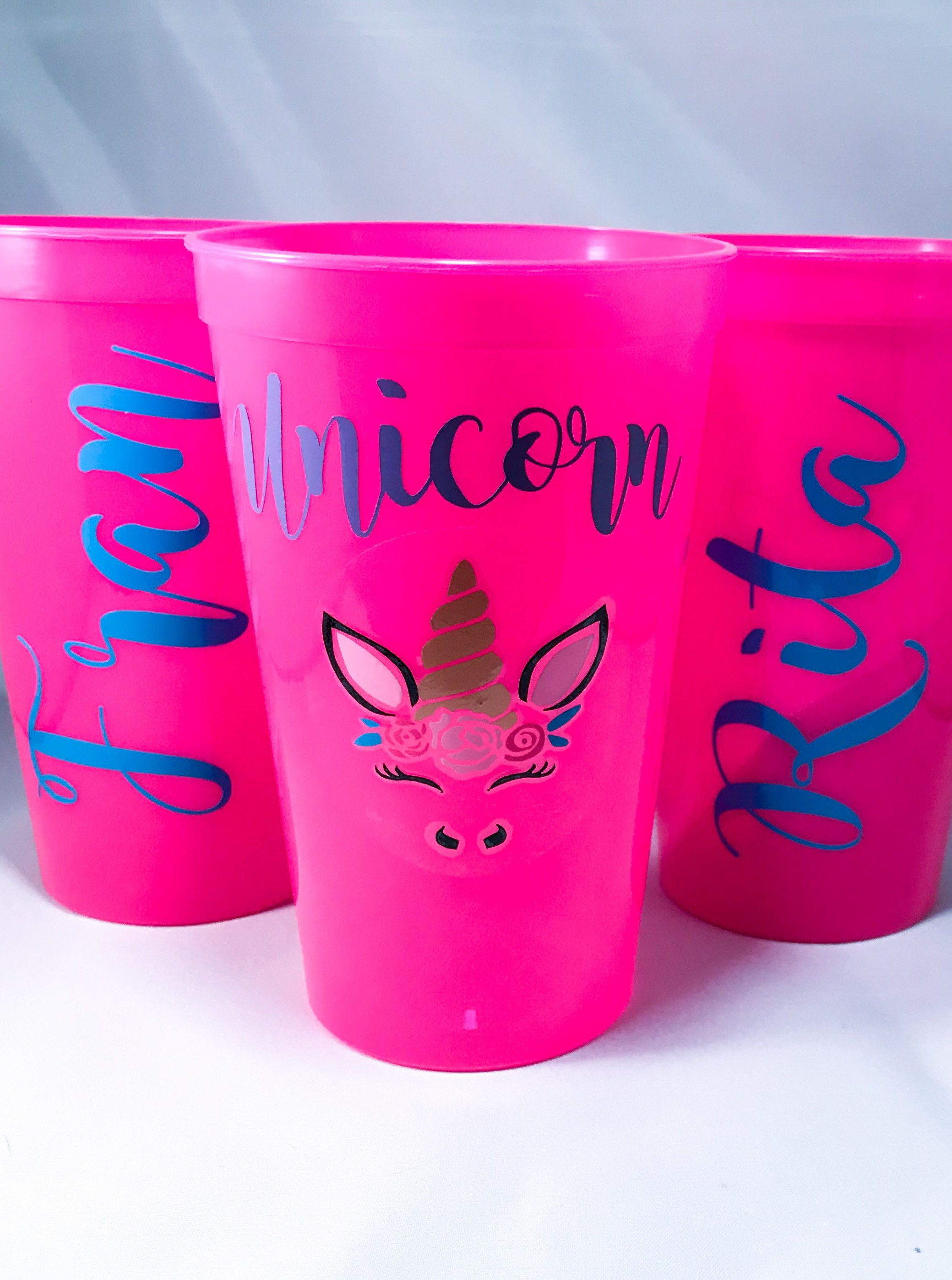 Plastic Cup, Custom Stadium Cup, Wedding Favors, Party Cups, Vinyl ...