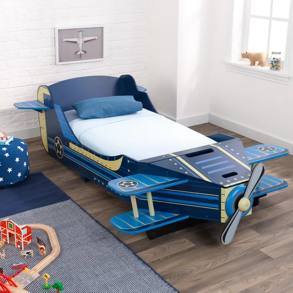 Airplane Toddler Car Bed With Storage Toddler Car Bed Twin Car