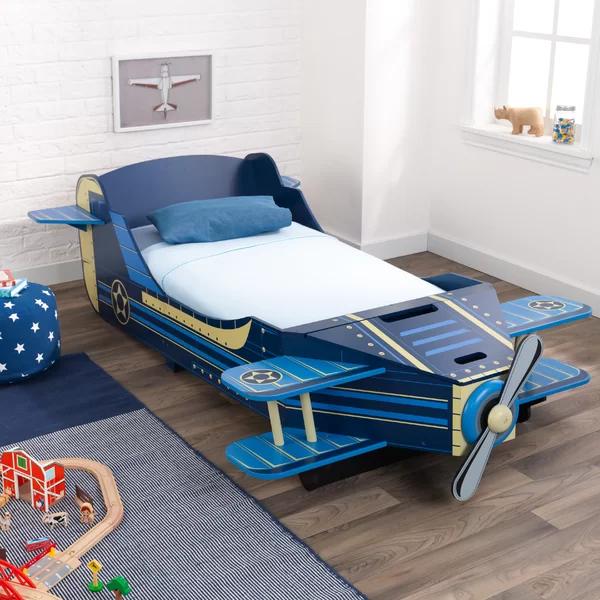 Airplane Toddler Car Bed With Storage Toddler Car Bed Toddler