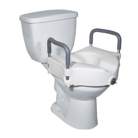 Superb Invacare Raised Toilet Seat With Armrests Products For Pabps2019 Chair Design Images Pabps2019Com
