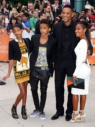 ALL IN THE FAMILY photo   Will Smith #style #family #fashion