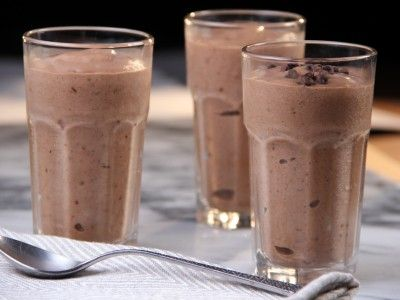 banana chocolate almond shake.