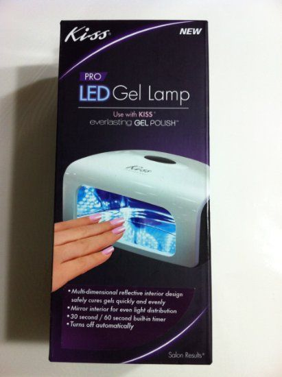 Amazon.com: NEW Kiss Pro LED Gel Lamp (Just Lamp) Professional Gel