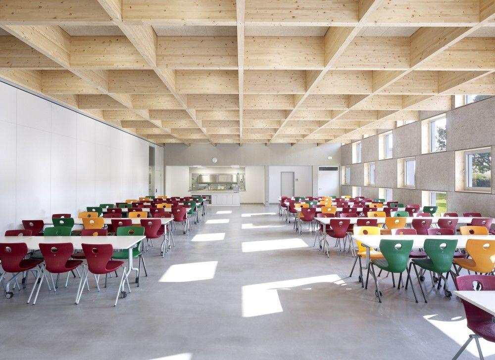 Gallery Of Salmtal Secondary School Canteen SpreierTrenner