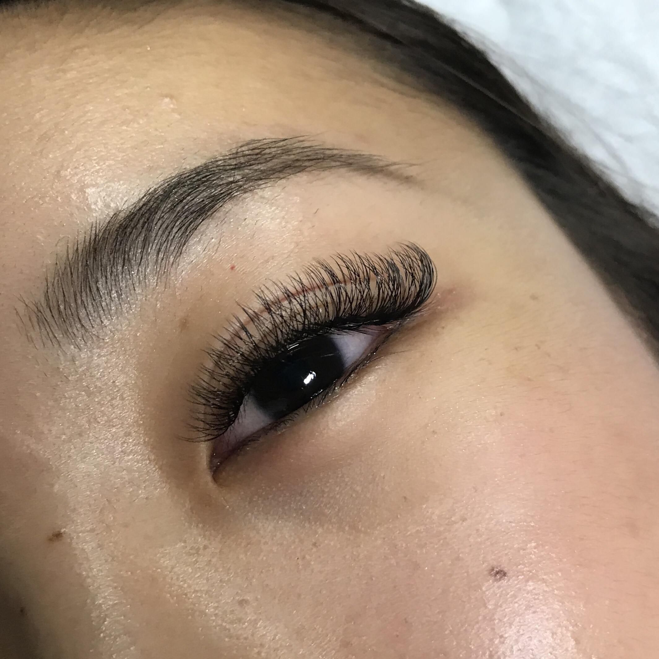 - Hybrid Full Set $125 #EyeLashesGrowth in 2020 | Eyelash ...