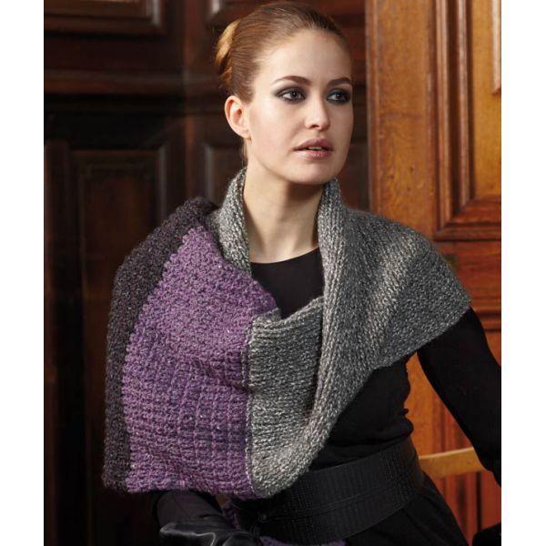 SEL TWEED DELUXE 7105 LILA/GRIS - Estambres Crochet